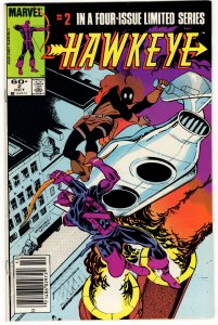 HAWKEYE #2 (VG/F) 1¢ auction! No Reserve!
