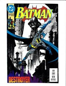 Batman #474 DC 1992 VF+ 8.5 Norm Breyfogle cover.