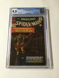 Amazing Spider-Man 28 CGC 4.0 Cr/Ow Pages Silver Age Marvel