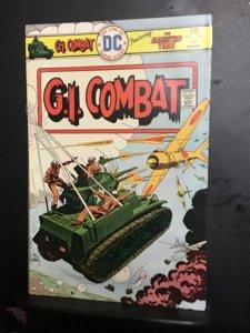 G.I. Combat #186 (1976) High-grade heart attack Joe Kubert cover key! NM- Wow