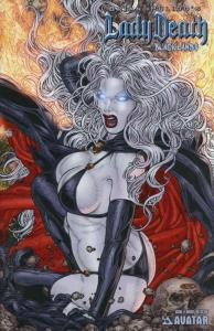 Lady Death: Blacklands #4E VF/NM; Avatar | save on shipping - details inside