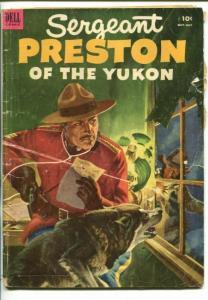 SGT PRESTON OF THE YUKON #7-1953-DELL-RCMP STORIES-fr