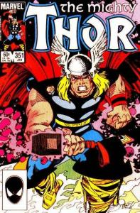 Thor (1966 series) #351, VF+ (Stock photo)