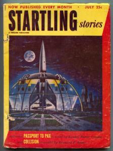 Startling Stories Pulp July 1952- Arthur C Clarke- VG