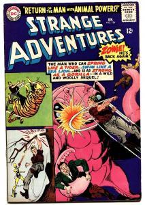 STRANGE ADVENTURES #184 Second appearance of Animal Man. DC