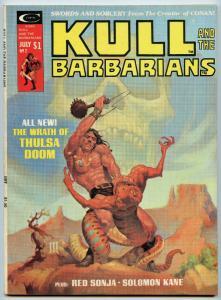 Kull and the Barbarians 2 Jul 1975 FI-VF (7.0)