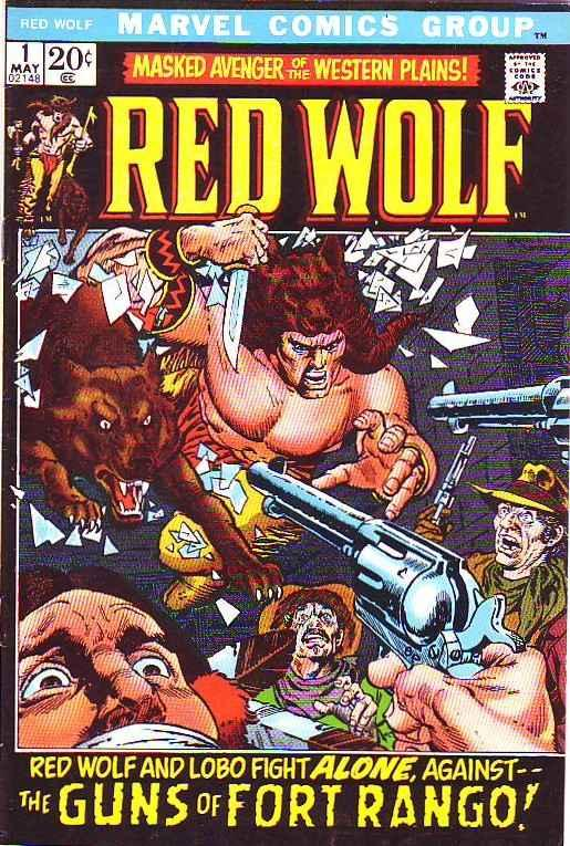 Red Wolf #1 (May-72) VF/NM- High-Grade Red Wolf, Lobo