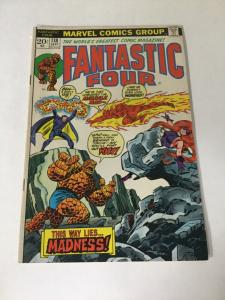 Fantastic Four 138 Vg Very Good 4.0 Stain On Back Marvel Comics