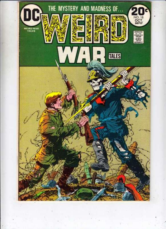 Weird War Tales #18 (Oct-73) VF/NM High-Grade