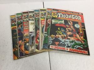 Creatures On The Loose Thongor 22-29 Lot Set Run Fn-Vf Fine-Very Fine Marvel IK