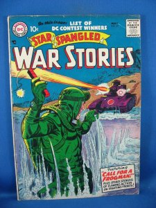 Star Spangled War Stories #57 (May 1957, DC) VG F