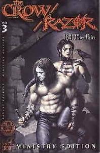 Crow/Razor, The: Kill The Pain #3A VF/NM; London Night | save on shipping - deta