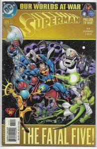 Superman   vol. 2   #171 GD/VG (Our Worlds at War)