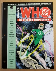 WHO'S WHO IN THE DC UNIVERSE #3 COMPLETE DC COMICS 1990 VF/NM GREEN LANTERN