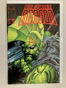 Savage Dragon #1 8.5 VF+ (1993 Image 2nd Series)