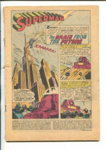 SUPERMAN -#108-1956-DC-BRAIN FROM THE FUTURE-pr/fr