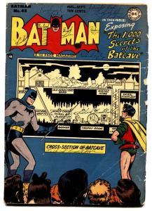 Batman #48-Penguin-comic book-1,000 secrets of the batcave-DC Golden-Age