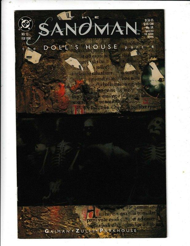 THE SANDMAN # 13 VF/FN   THE DOLL'S HOUSE PART 4   DC COMICS