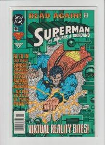 Superman 96 VF 8.0 (1996, DC) Newsstand Variant!
