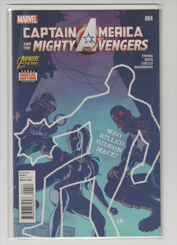 CAPTAIN AMERICA AND MIGHTY AVENGERS (2014 MARVEL) #4