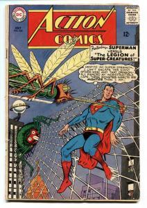 ACTION COMICS #326 comic book 1965-SUPERMAN-LEGION OF CREATURES VG-
