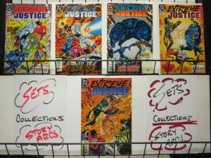 EXTREME JUSTICE is served (1995) 0,1-4 Booster Gold