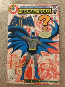 DC The Brave And The Bold 150 Starring Batman And ? * Whitman *
