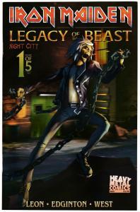Iron Maiden Legacy Of The Beast Vol 2 Night City #1 Cvr B (2019) NM