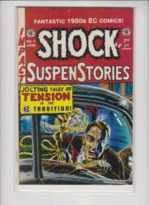 SHOCK SUSPENSTORIES  REPRINT  #4 1993  / MED + QUALITY