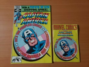 Captain America #250 + Mini Comic ~ NEAR MINT NM ~ 1980 MARVEL COMICS