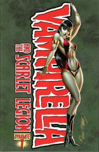 Vampirella and the Scarlet Legion #1A FN; Dynamite | save on shipping - details