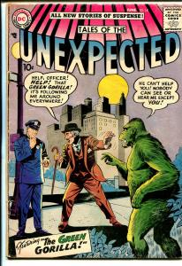 Tales of The Unexpected #14 1957-DC-Green Gorilla-horror-mystery-VG