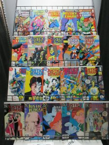 Justice League International to America (DC 1987-96) Mini-Library Lot of 124Diff
