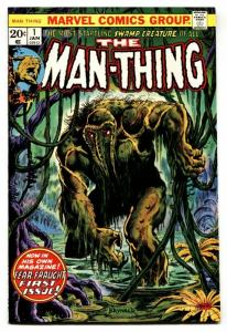 Man-Thing #1 First issue-1974-Howard the Duck VF+