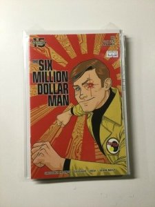 Six Million Dollar Man 6 Variant Near Mint Dynamite HPA