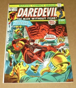Daredevil #110 VF- 1974 Marvel Bronze Age Comic Book Thing The Man Without Fear