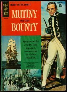 Mutiny On The Bounty #1 1963--GOLD KEY-Marlon BRANDO VG