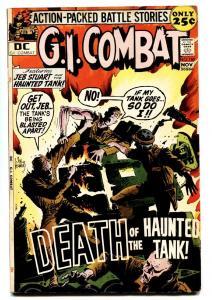 G.I. COMBAT #150 1971- THE HAUNTED TANK-Ice Cream Soldier origin