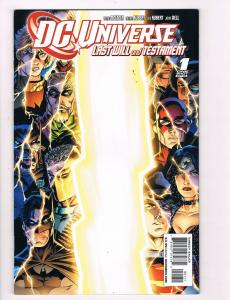 DC Universe # 1 DC Comic Books Hi-Res Scans Awesome Issue Modern Age WOW!!!! S17
