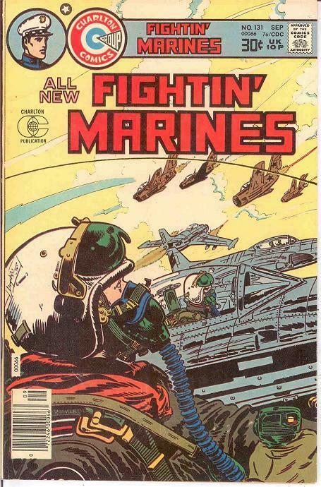 FIGHTIN MARINES (1951-1984) 131 VF-NM   September 1976 COMICS BOOK