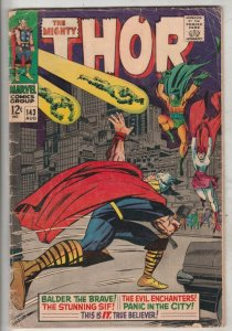 Thor, the Mighty #143 (Aug-69) VG Affordable-Grade Thor