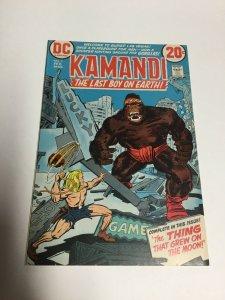 Kamandi Last Boy On Earth 3 Vf Very Fine 8.0 Printer Defect DC Comics