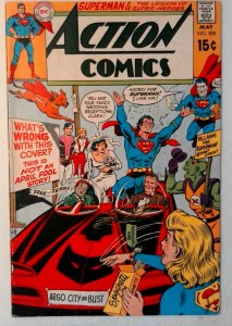 Action Comics #388 DC 1970 FN- Bronze Age Comic Book 1st Print