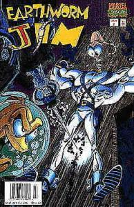 Earthworm Jim #2 (Newsstand) FN; Marvel | save on shipping - details inside