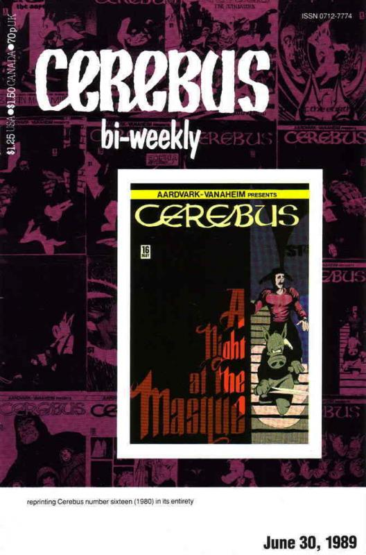 Cerebus Bi-Weekly #16 VF/NM; Aardvark-Vanaheim | save on shipping - details insi