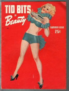 Tid Bits Of Beauty #1  Summer 1943-Enoch Bolles pin-up girl-1st issue-VG