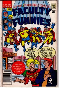 Faculty Funnies   # 1 GD/VG (1989, Archie) Goldberg