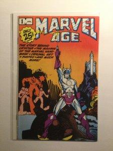 Marvel Age 1 Near mint nm Marvel