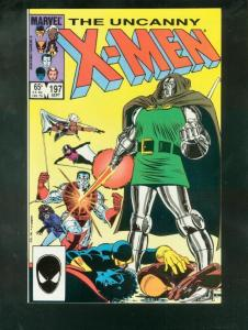 X-MEN #197 1985-MARVEL-HIGH GRADE VF/NM
