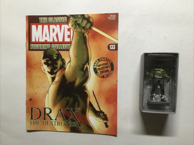 Drax The Destroyer Marvel Figure Collection 133 Lead Magazine Eaglemoss